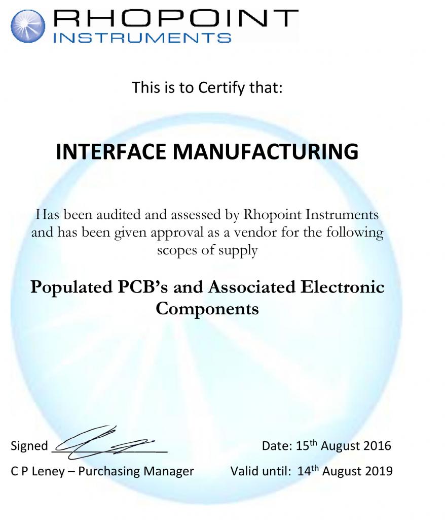Interface-Manufacturing-Audit-Cert-15.08